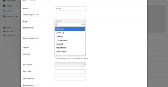einfache php seite